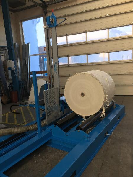 Оборудование для резки рулонов бумаги